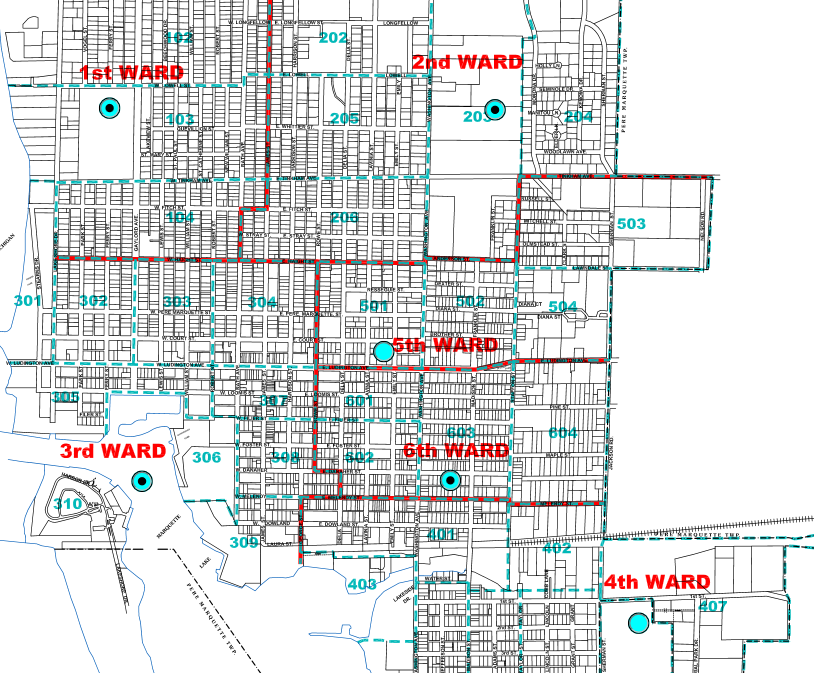 Neighborhood Watch / Community Policing Ward Map