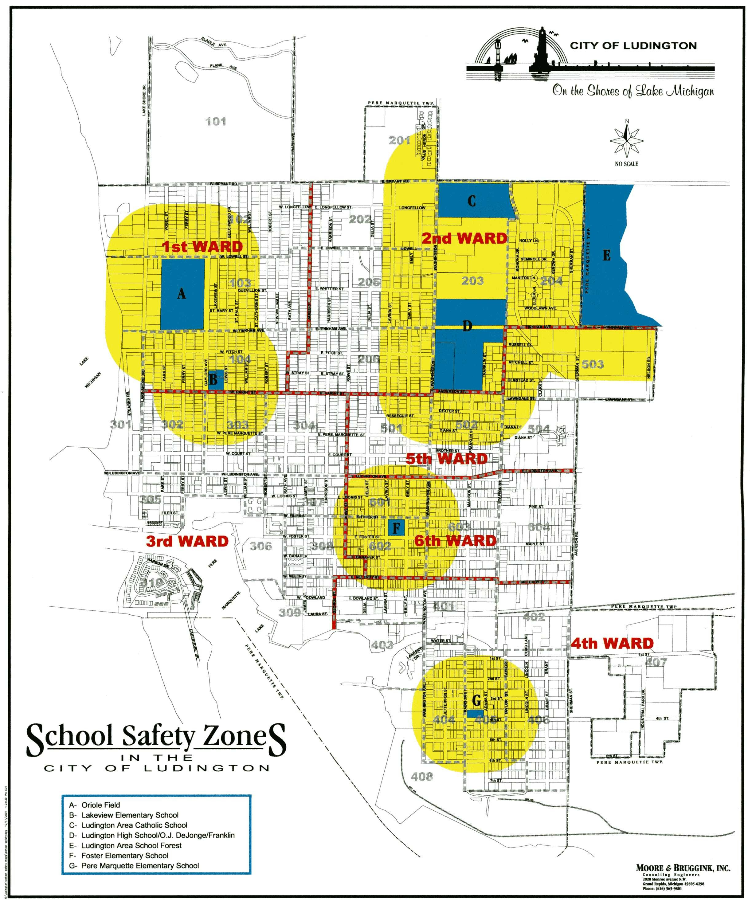 School Safety Zone Map